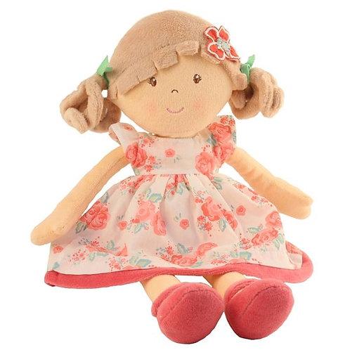 Personalised Rag Doll - Flower Pink