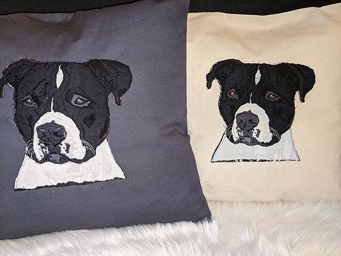 Staffordshire Bull Terrier Cushion