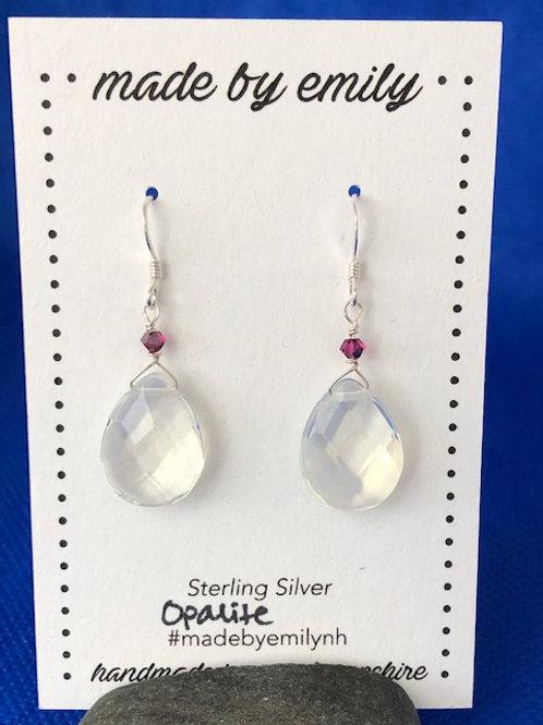Opalite & Garnet Drops