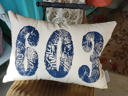 603 Pillow Bue