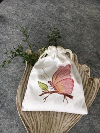 DRAWSTRING LAVENDER SACHET - Butterfly