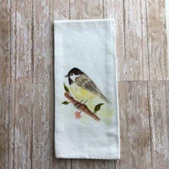 Art Towel - Chickadee
