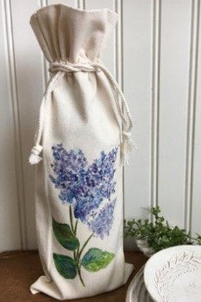 Wine Tote -Lilac