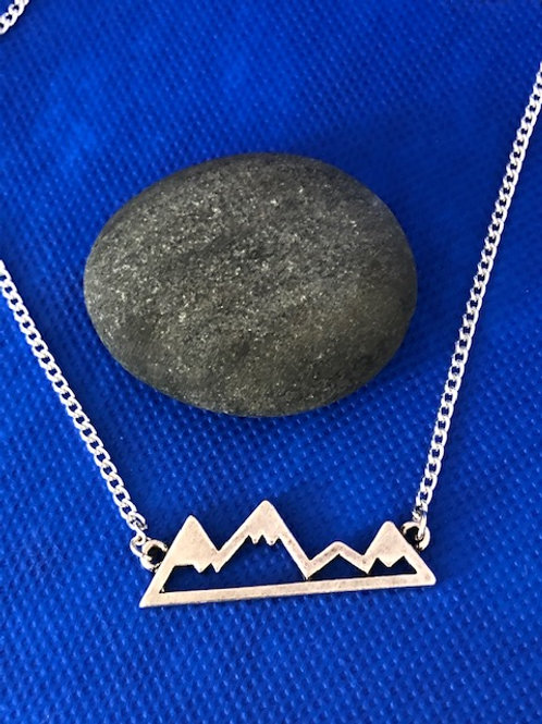 Silver To The Mountains & Back Pendant
