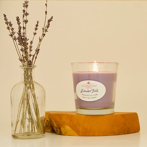 Lavender Field- Gift Boxed, by Country Farm Candles