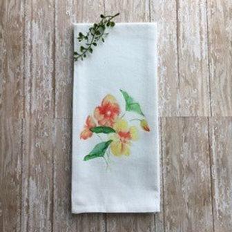Art Towel - Yellow Flowers