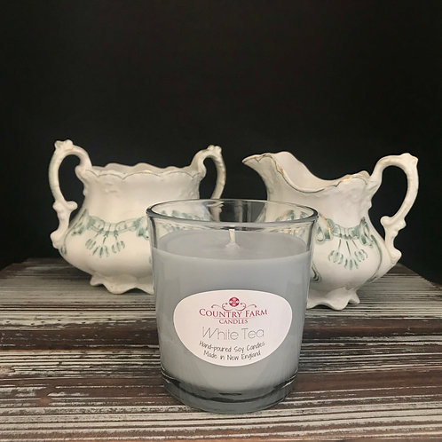 White Tea 8oz- Gift Boxed, by Country Farm Candles