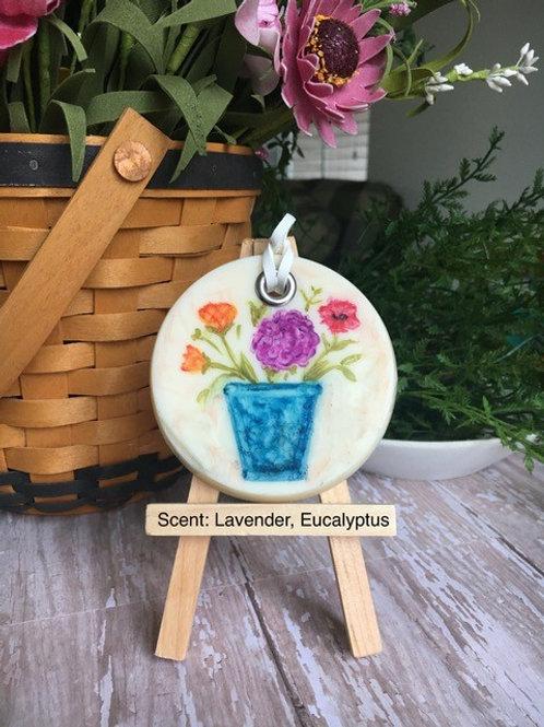 SCENTED WAX SACHET - Lavender & Eucalyptus