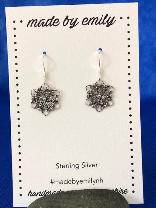 Sterling Silver Mandala