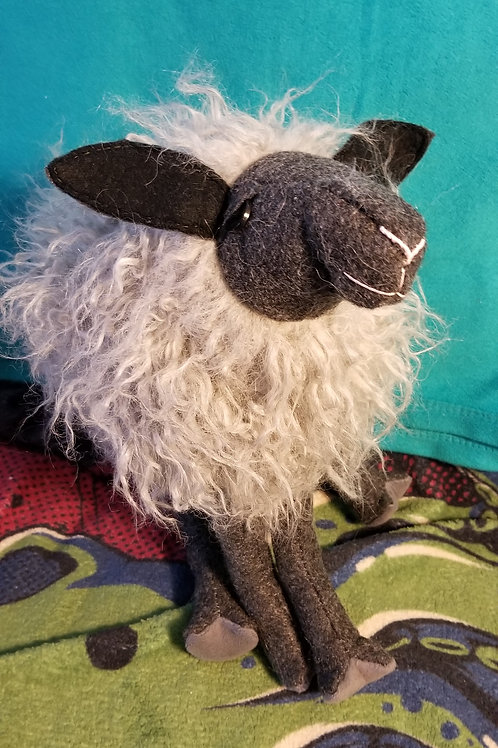 Samantha the Smoky Gray Sheep