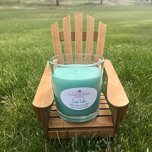 Loon Lake 8oz- Gift Boxed, by Country Farm Candles
