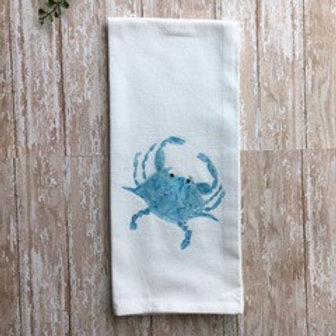 Art Towel - Blue Crab