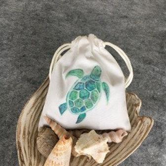 DRAWSTRING LAVENDER SACHET - Turtle