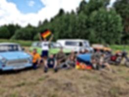 Главное событие для любителей и владельцев техники ГДР - общение, подарки, обмен опытом и встреча старых друзей.