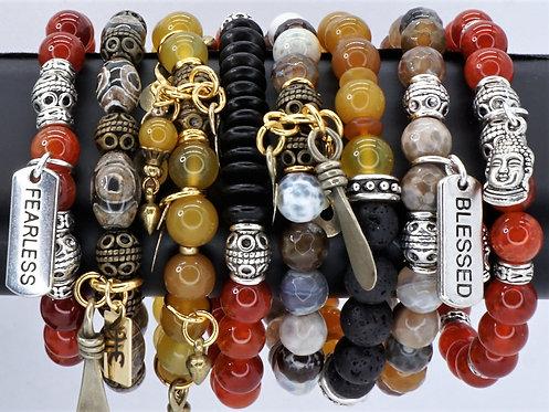 Wellness Bracelets Fire Agate