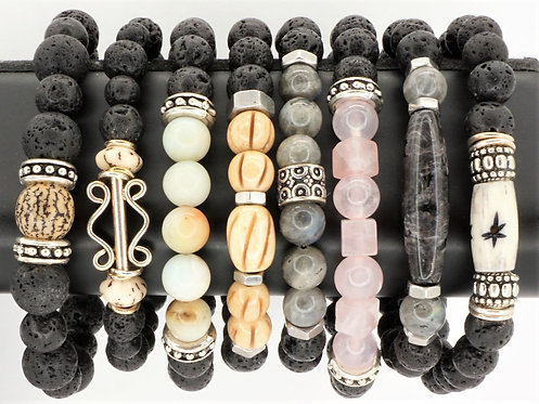 Wellness Bracelets Lava Rock
