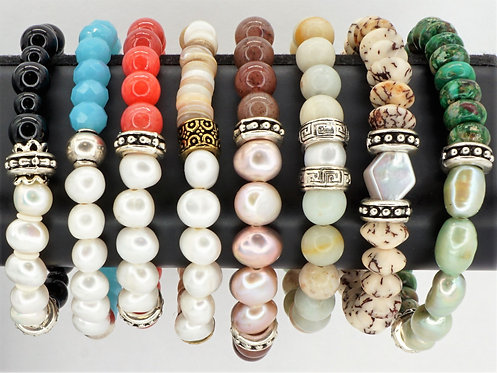 Wellness Bracelets Cultured FreshWater Pearl
