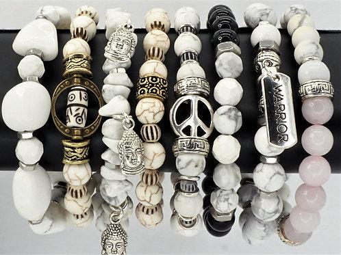 Wellness Bracelets Howlite