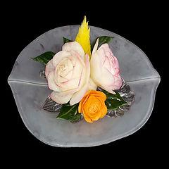 Rosenschale schnitzen