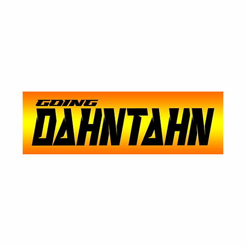 Dahntahn sticker