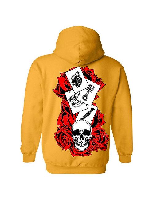 Roses - Skull Hoodie