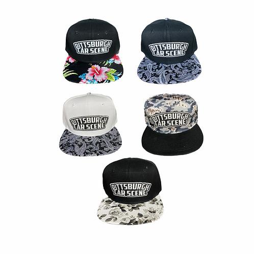 Designer SnapBack Crest Hat