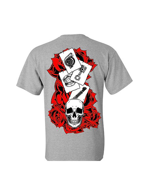 Roses and Skull Shirt