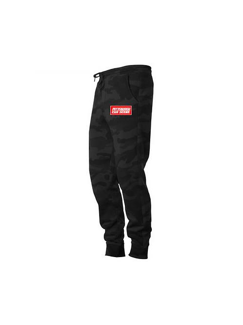 Black Camo Premium Sweatpants