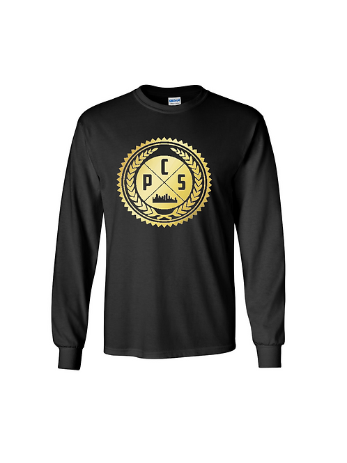 Logo Long Sleeve Shirt Gold Edition