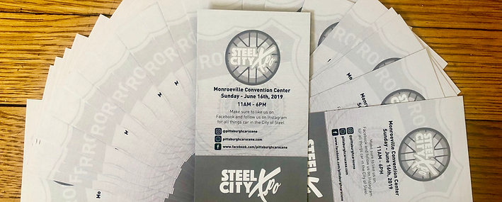 Steel City Xpo Ticket