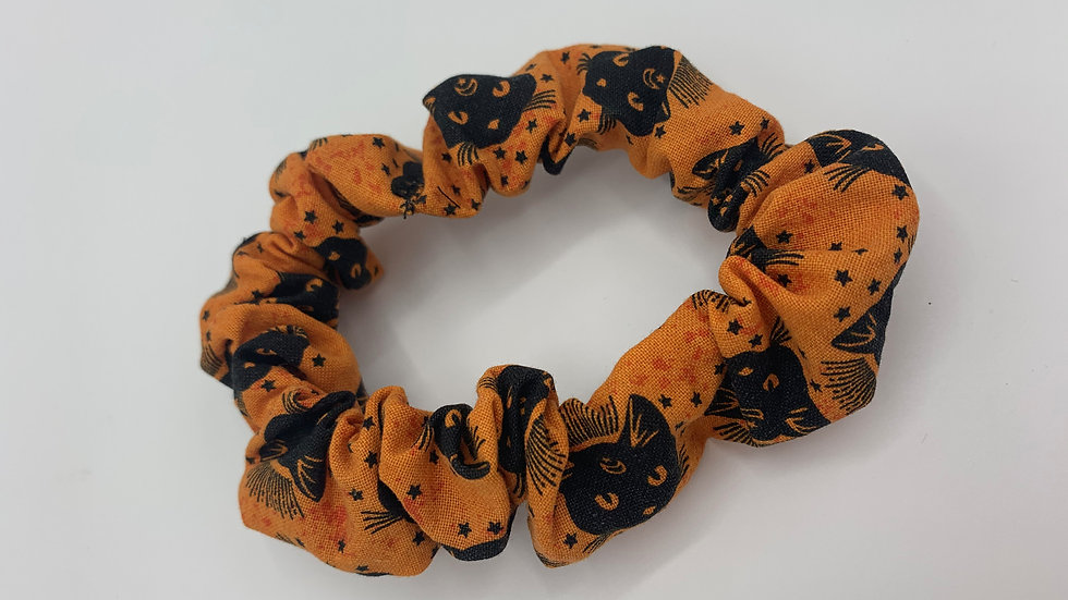 Small Orange Cat Scrunchie