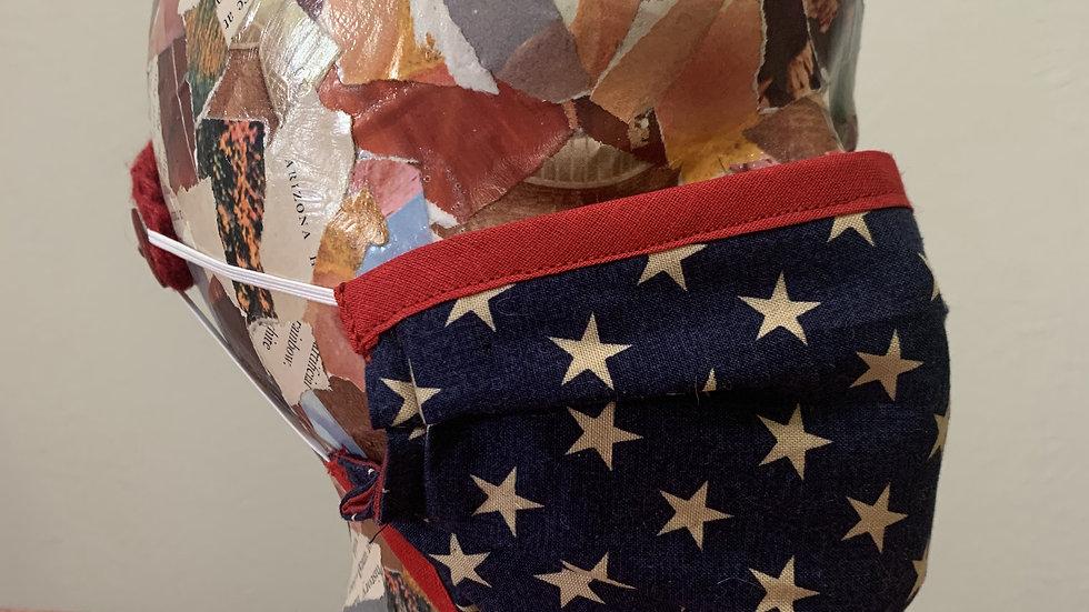 Patriotic Stars Mask