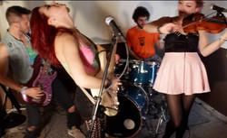 Still from the Still Into You Cover Video