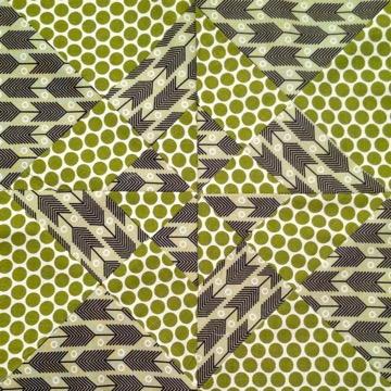 Geometric Quilt Square