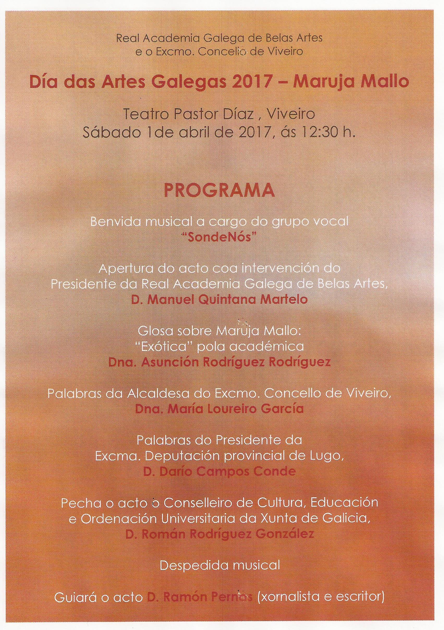 SondeNós no Día das Artes Galegas