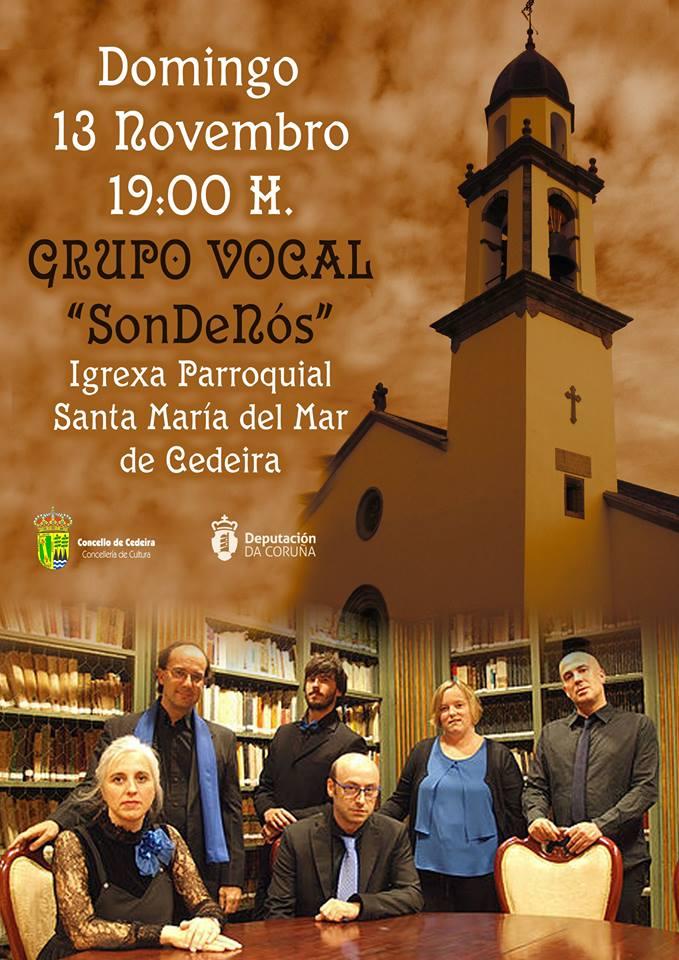 Concerto en Cedeira, Novembro 2016