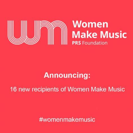 PRS Women Make Music Grant Awarded for debut solo project 'UV'