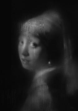 진주귀걸이를 한 소녀-눈물