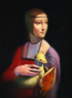 복원 - 다빈치의 초상화