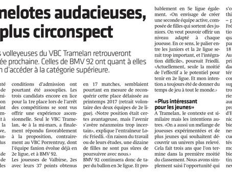 Le VBCT dans la presse!