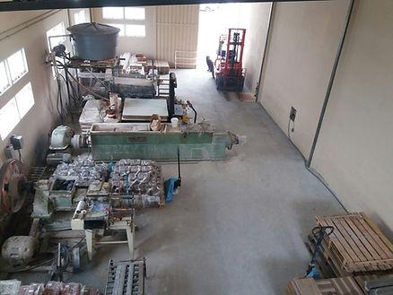 Argilas Rezende - Visão interna da fábrica