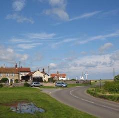 The Dun Cow, the excellent village pub