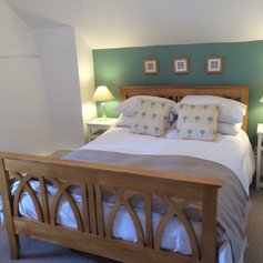 Second bedroom with views to the marsh