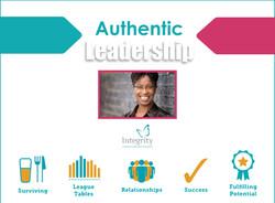 Authentic Leadership Cover Trim