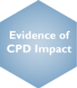 Evidence of CPD Impact Deselected