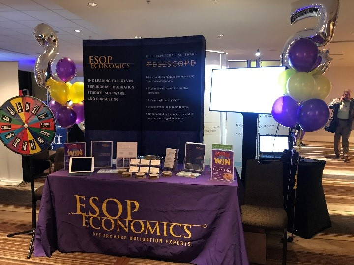 ESOP Economics Booth at NCEO Conference