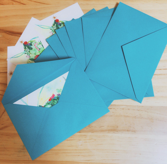クリスマスカード発送しました!