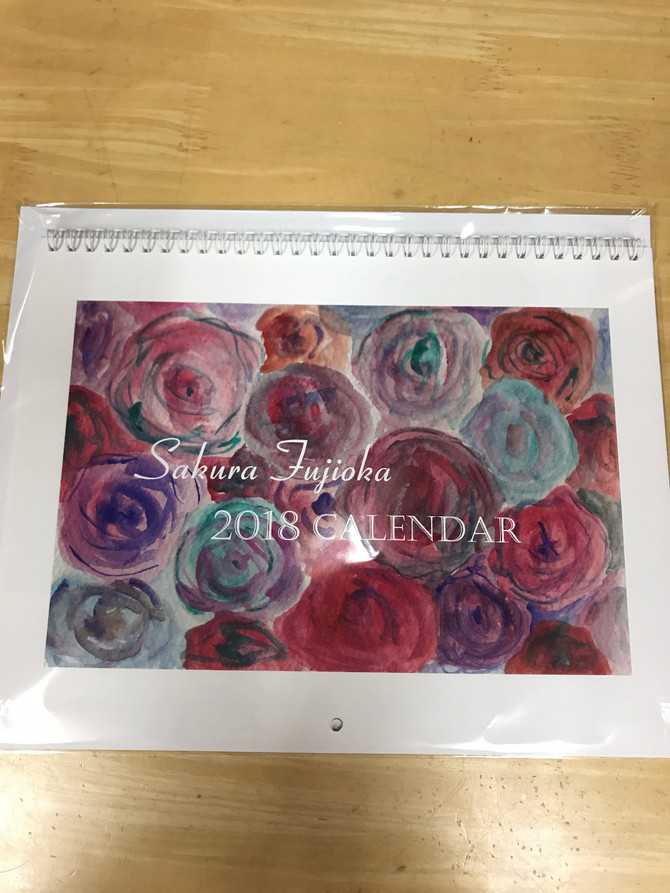 壁掛けカレンダー数量限定!プレゼント