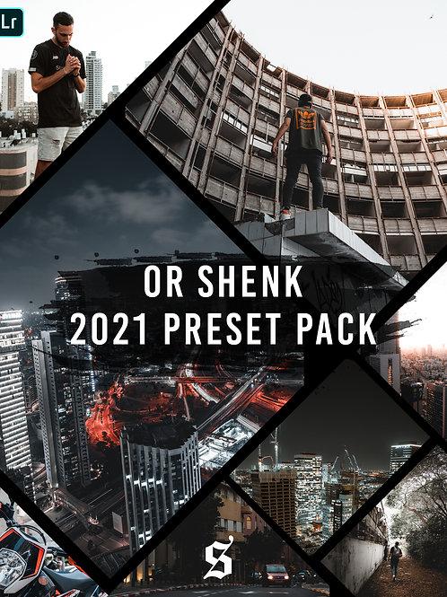 Or Shenk 2021 Preset pack