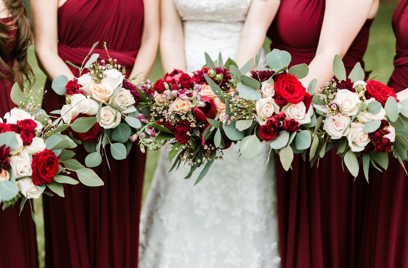 Le Fleur Atelier bridemaids bouquets
